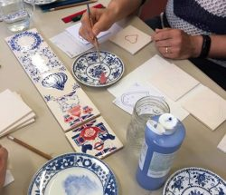 Amazing Delft Tile Workshops