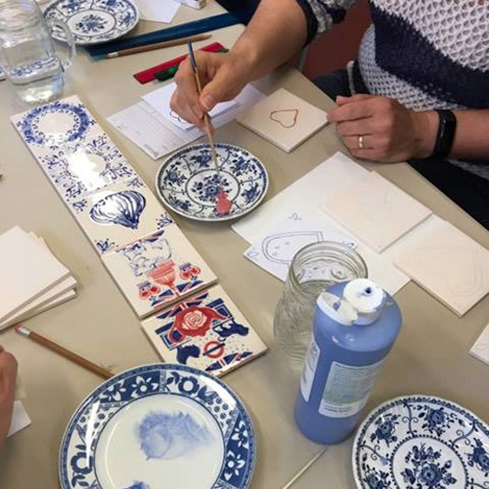Amazing Delft Tile Workshops