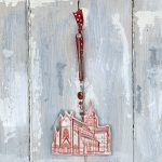 St Magnus ceramic hanging decoration