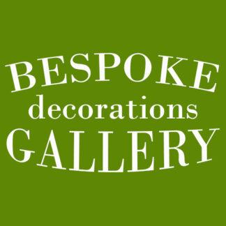 Bespoke decorations gallery